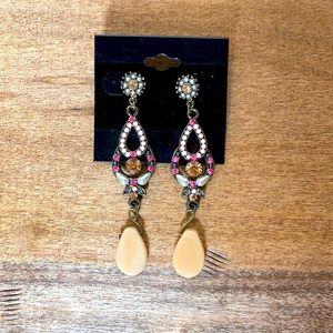 Bohemian Handmade Teardrops Earrings